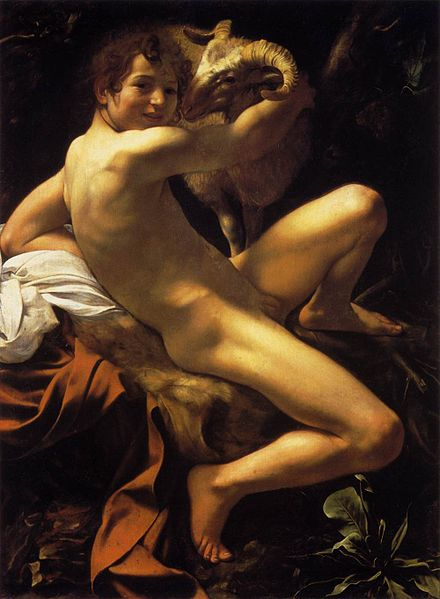Michelangelo_Merisi_da_Caravaggio,_Saint_John_the_Baptist_(Youth_with_a_Ram)_(c._1602,_WGA04111)
